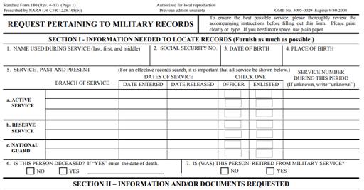 Military Sea Time Documentation