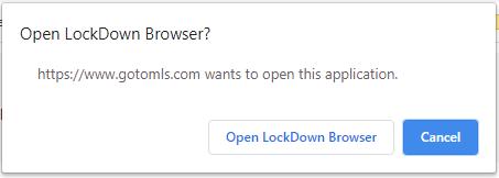 Open LockDown Browser