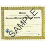 Printed Certificate Product Image